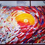 Huntington Beach Wave Abstract