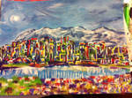 Vancouver Abstract Cityscape