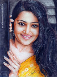 Samskruthy Shenoy -  Colored Pencil drawing