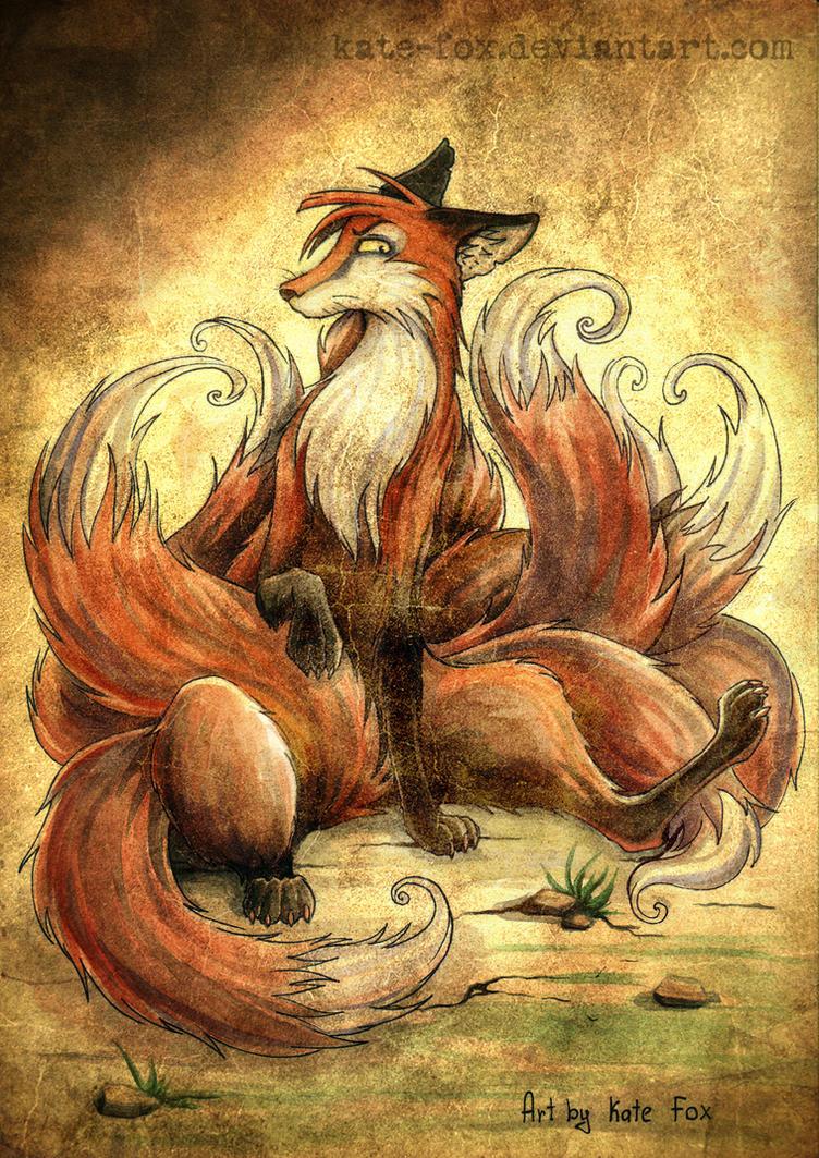 Nine Tail by Kate-FoX