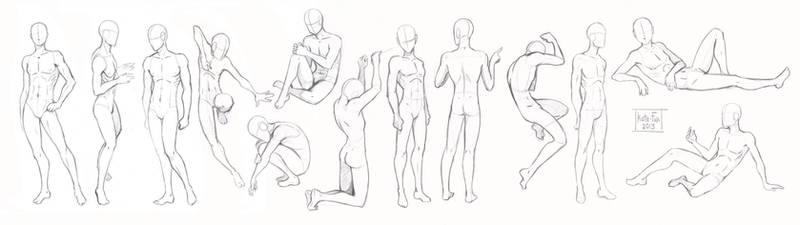 Pose study2