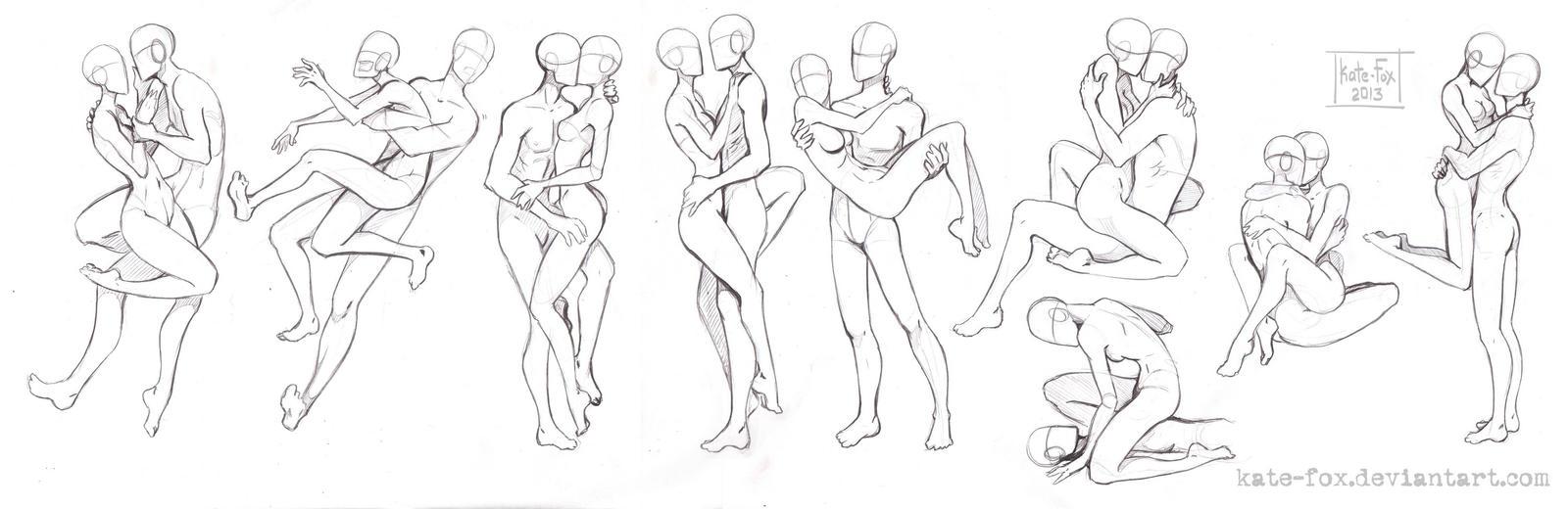 Анатомия аниме девушек для рисования