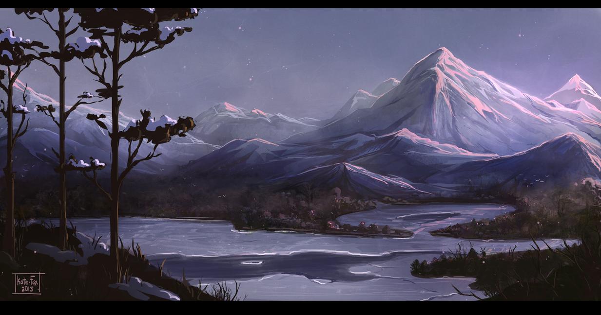 Sleepy Mountain By Kate FoX