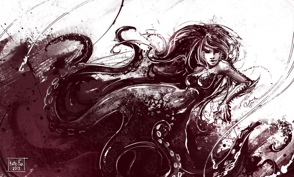 Sea devil by Kate-FoX