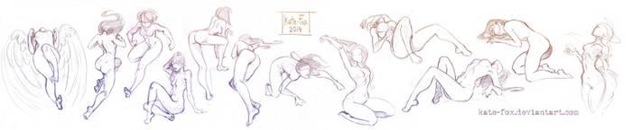 Pose study16 by Kate-FoX