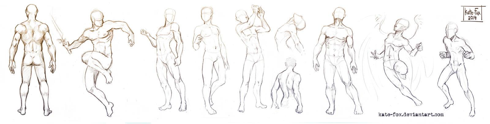 Pose study 17