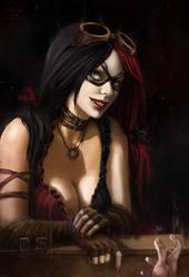 Harley Quinn by Kate-FoX