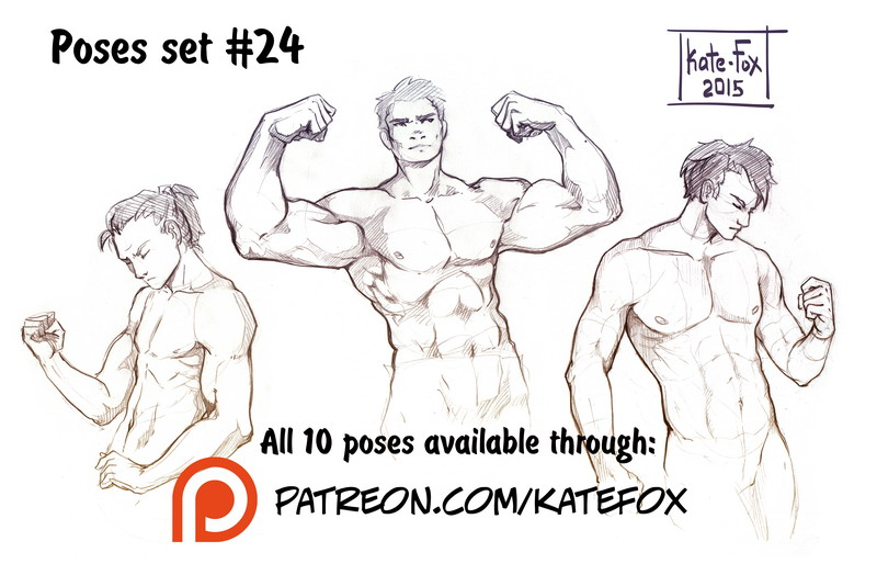 Kate Fox is creating Comics, 2D art, pose-study sets and ...