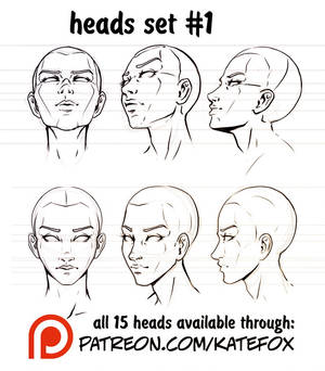 Heads Set 1