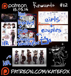 Patreon rewards #12 by Kate-FoX