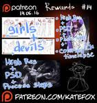 Patreon rewards #14