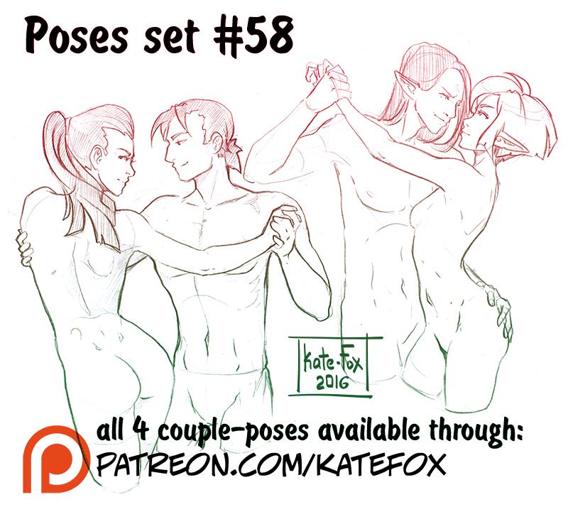 Pose study 52 by Kate-FoX.deviantart.com on @DeviantArt ...