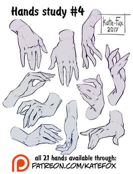 Hands study 4