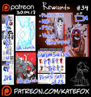 Patreon rewards #34 by Kate-FoX