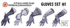 Gloves set 1