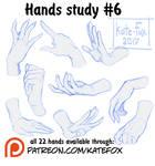 Hands study 6