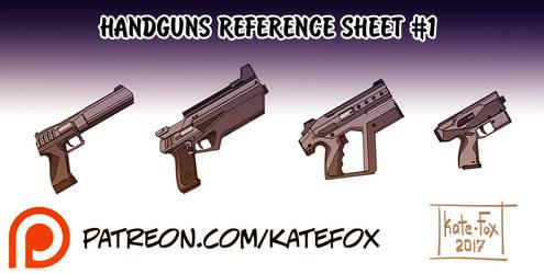 Handguns Set 1