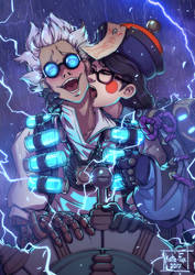 Mei And Junkenstein by Kate-FoX