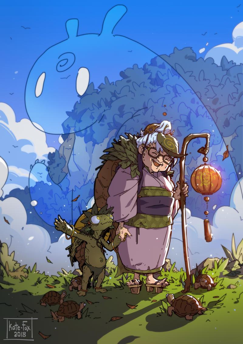 Grandma by Kate-FoX