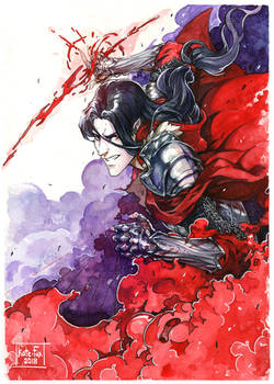 The bloody knight