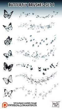 Butterfly Brushes 1