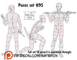 Pose study 95 by Kate-FoX
