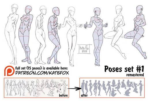 Pose study 1 REMASTERED