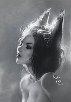 Another Fox portrait study
