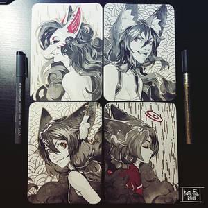 Fox ink arts