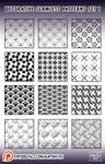 decorative patterns #1 for Photoshop