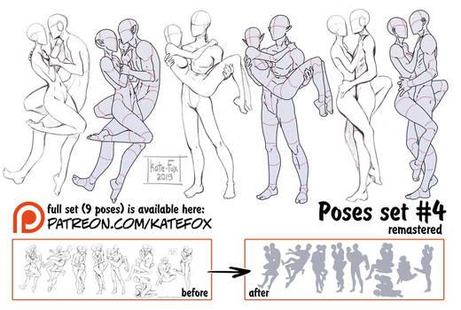 Pose study 4 REMASTERED