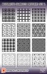decorative patterns #2 for Photoshop