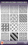 decorative patterns #3 for Photoshop