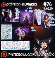 Patreon rewards #76 by Kate-FoX