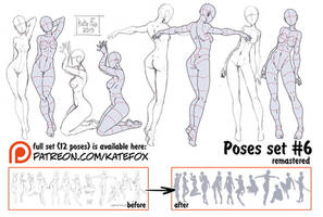 Pose study 6 REMASTERED