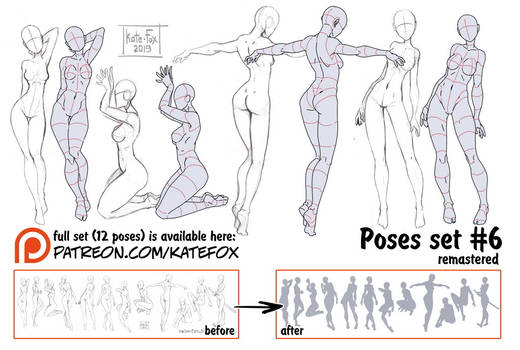 Pose study 6 REMASTERED by Kate-FoX