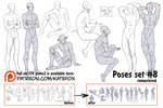 Pose study 8 REMASTERED