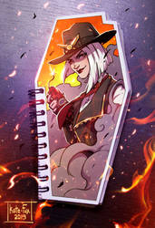 MM: Ashe by Kate-FoX