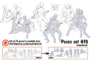 Pose study 10 REMASTERED