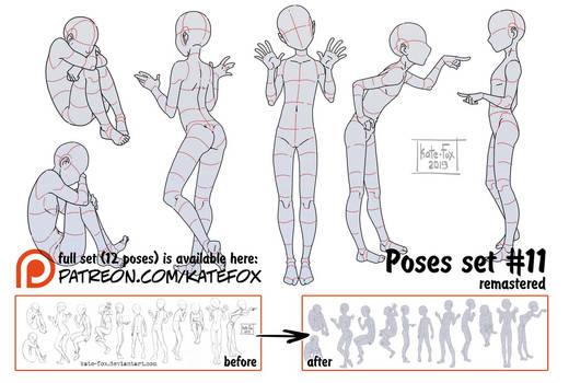 Pose study 11 REMASTERED