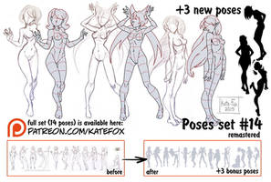 Pose study 14 REMASTERED