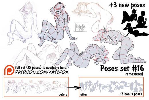 Pose study 16 REMASTERED