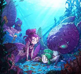 Merturtles or turtlemaids...