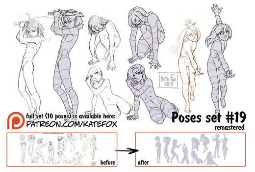 Pose study 19 REMASTERED