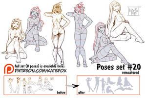 Pose study 20 REMASTERED