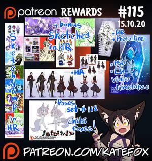 Patreon rewards #115