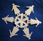 Sherlock Paper Snowflake
