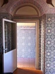 Morrocan tile in Taroudant