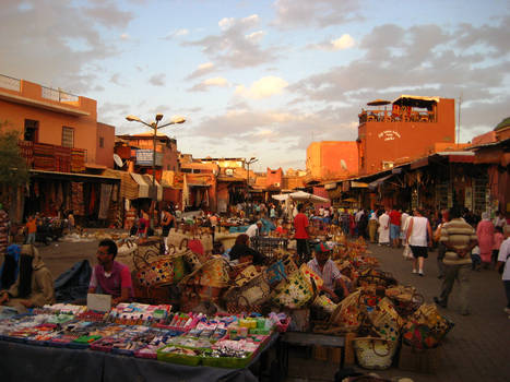 The Souk: Marrekech, Morocco