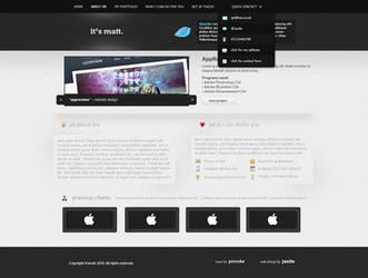 Pro web 2.0 portfolio template by jackinnes